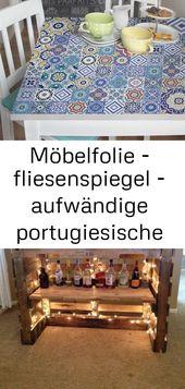 Möbelfolie – fliesenspiegel – aufwändige portugiesische fliesen – möbel klebefolie 12