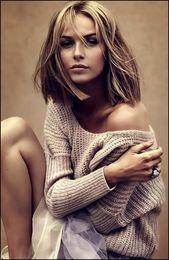 10 superbes coupes de cheveux contondants à la mode et intemporelles   – Frisuren 2019