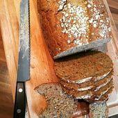 Knuspriges und saftiges Vollkornbrot selber backen – Brot und Brötchen