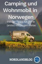 Conseils d'initiés pour votre (premier) camping-car / camping en Norvège   – NORWEGEN RATGEBER / REISEPLANUNG