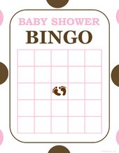 baby bingo game free printable