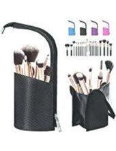 BeeViuc Klar Makeup Pinsel Taschen Make Up Pinsel Halter Travel Make-up Pinsel T