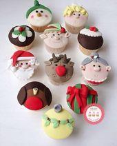 Pastelitos De Navidad   – cupcakes