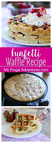 Funfetti Waffle Recipe – My Frugal Adventures