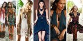 20 Ideen für böhmische Look-Outfits