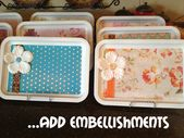 Marci Coombs: Dollar Store Craft, LOVE these mod p…