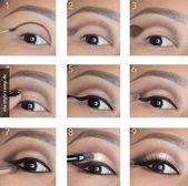 The perfect eye make-up ♥ – Nadine Blog