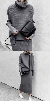 Grey Sweater – Aniss