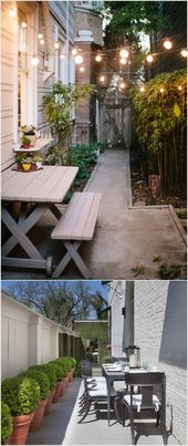 10 Awesome Ideas to Design Long and Narrow Outdoor…