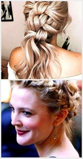 36 chic and simple hairstyles for wedding guests, casual hairstyles for wedding … –  36 chic and simple hairstyles for wedding guests, casual hairst…