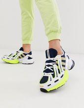 Zapatillas de deporte Gazelle EQT Gazelle de adidas Originals en azul marino y amarillo   – Adidas