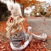 Autumn vibes 🍁🌲 Diese süße Mütze ist online in pink, schwarz oder grau ❤️ #butikmoda
