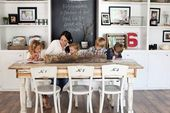 Joanna Gaines with her children. Photo from Design…