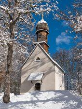 Schlosskapelle Im Schlosspark Von Linderhof Schloss Linderhof Linderhof Italien Reisen