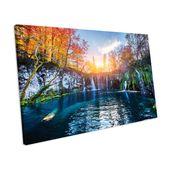 Mercury Row Canvas Print Waterfall Autumn Landscape | Wayfair.de