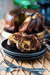 La mejor receta del mundo de la abuela para el jugoso pastel de mármol   – Kuchen & Torten