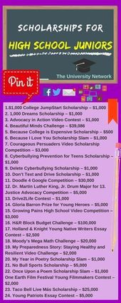 Scholarships For Excessive College Juniors | The College Community