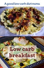 Low carb breakfast. Well being and health start out with a proper low carb eatin…