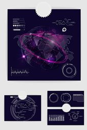 Smart Technology Infographic Vector | Graphic Elements AI Free Download – Pikbest