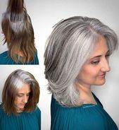 41 Stunning Grey Hair Color Ideas and Styles | Page 4 of 4 | StayGlam 4766075730…