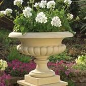 Traditional Cast Stone Planters