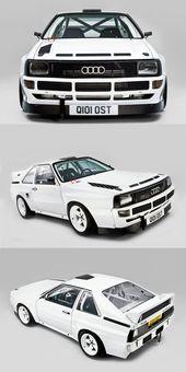 1985 Audi Sport Quattro S1 / Deutschland / weiß / 17-412 / Gruppe B   – Audi