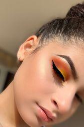Lidschatten-Ideen; 35 kostenlose Sommer-Augen-Make-up-Ideen sobald Ihr neues 201…