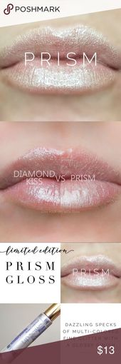 NEW LipSense Prism Gloss LipSense prism gloss. Might be worn alone or with a LipSe…