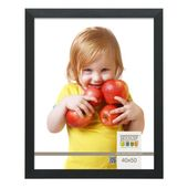 Picture Frame (Set of 2) ClearAmbient Picture size: 13 cm x 13 cm, Color: Black