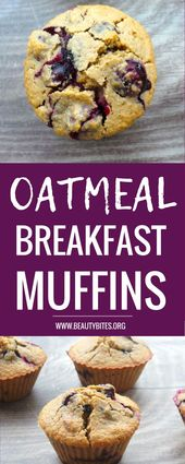 19c3eaa4cfc385a97ba381f657d08204 Healthy blueberry muffins for breakfast! These are flourless   instead we're...