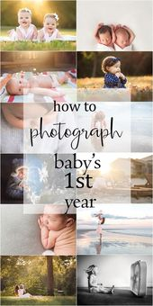 Fleeting Firsts: Capturing milestones and everyday moments of baby's first year – Fotografie Tipps