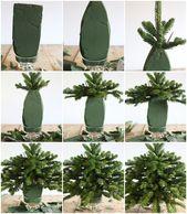 Tannenzweige in Vase: So machen Sie die Weihnachtsgestecke haltbar!