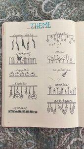 33+ Einfache Bullet-Journal-Ideen zur Vereinfachun…