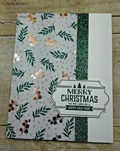 This super cute card is a real snap to make with very little materials. Perfect …