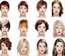 Pictures Of Hairstyles Short Medium Long For Women Men Virtual Hairstyles Free Virtual Hairstyles Hair Makeover