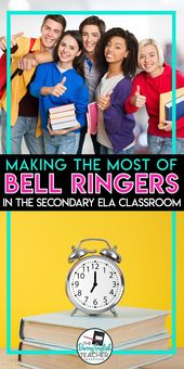 An efficient bell ringer routine for the secondary ELA classroom