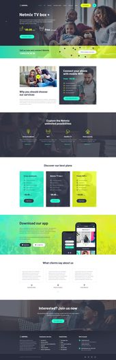 Broadband & Telecom WordPress Theme