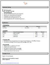 easy online resumes