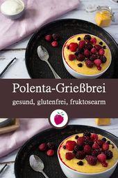 Photo of Polenta semolina porridge with vanilla – healthy and sugar-free | Dink …