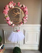 افكار توزيعات هدايا On Instagram نجود Baby Door Decorations Girl Baby Shower Decorations Baby Shower Deco