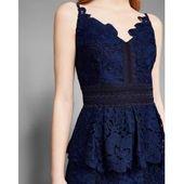 Kleid Mit Spitzenschößchen Ted BakerTed Baker – Products