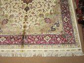 Size:6 ft by 9 ft Handmade Rug Vintage Oriental Best Pure Silk Carpet,Large,Pure Silk Kashmir Rug,Pure Silk Turkish Large Rug