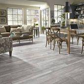 "Restoration Collection® 8"" x 51"" x 12mm Oak Laminate Flooring in Steel"