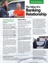 The Value Of A Banking Relationship Banking Financial Fitness Relationship