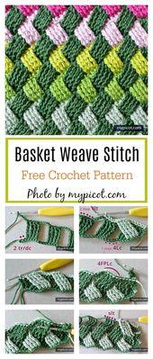 Celtic Basket Weave Stitch Free Crochet Pattern – Crochet Ideas
