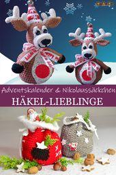 Häkel-Lieblinge: Nikolaussäckchen und Adventskalender