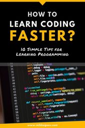 10 time-saving tips to learn coding and web development faster – #coding #learn #faster #tips
