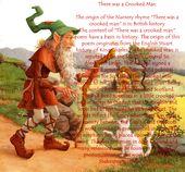 Nursery Rhymethere Was A Crooked Man Rhyme Origins History Pinterest Songs