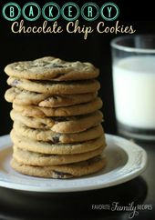 This is HANDS DOWN the BEST chocolate chip cookie recipe EVER. These are soft, c…