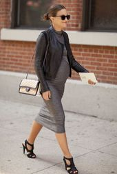 Baby Bump Style Inspiration: NYFW Street Style - The Simply Luxurious Life®